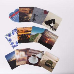 Set van 4 kaarten – serie 2