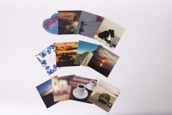 Set van 4 kaarten - serie 1